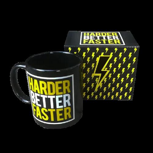 Tasse - Harder Better Faster