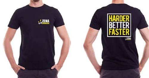 T-Shirt - Harder Better Faster