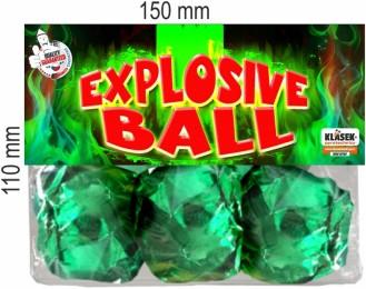 Explosive Balls
